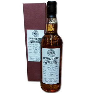Springbank Society Bottling 180th Anniversary Single Malt Scotch Whisky  70cl 48.7%