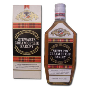 Stewart's Cream of The Barley 70 proof 26 2/3 fl ozs
