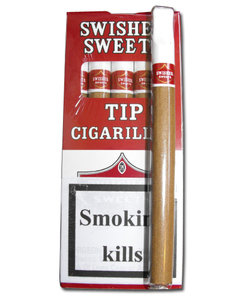 Swisher Sweets Cigarillos - TIPPED - Pack of 5