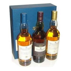 Talisker Single Malt Scotch Whisky Gift Pack 3x 20cl
