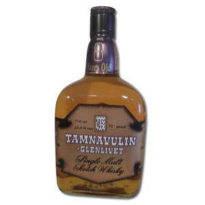 Tamnavulin Glenlivet 8 years 75cl 26.4fl ozs