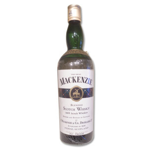 The Real MacKenzie Blended Scotch Whisky 70 proof