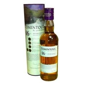 Tomintoul Single Malt Scotch Whisky 16 Year Old 40% Vol 35Cl