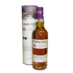 Tomintoul 16 Year Old Single Malt Scotch Whisky (70cl 40%)