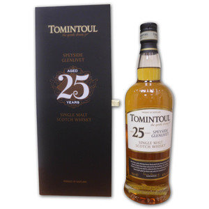 Tomintoul 25 Year Old Single Malt Scotch Whisky 70cl