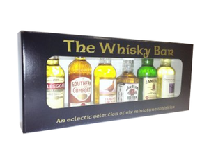 The Whisky Bar 6x5cl Gift Pack