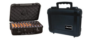 XIKAR Cigar Travel Waterproof  Humidor - 30-50 Capacity